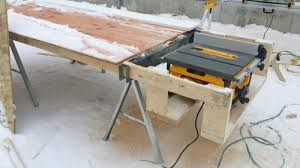 wood table saw stand table saw stand plans dewalt forumrunner admirable name forumrunner