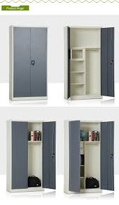 new arrival indian almirah style steel multipurpose cabinet design