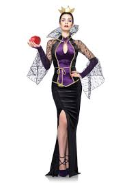 Hello Kitty Halloween Costume Adults Black 3 Piece Evil Queen Costume Amiclubwear Costume Online