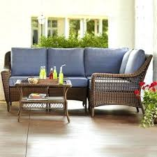 Outdoor Patio Furniture Sectionals Shop Wicker Lounge Furniture Sears Outdoor Patio Wicker Furniture