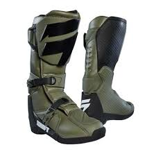 motocross boots 2018 shift mx whit3 label motocross boots fatigue green