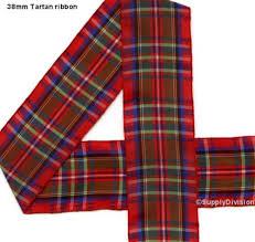 tartan ribbon 38mm tartan ribbon truetrim trade suppliers
