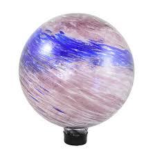Gazing Ball And Stand Glass Garden Globes