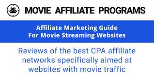 best movie affiliate networks movie affiliate programs