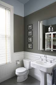 Grey Painted Bathroom Walls How To Build A Lattice Privacy Screen On A Budget Tutorial