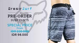 Jual Celana Quiksilver Original terjual pasti untung preorder celana pantai surf original harga gila