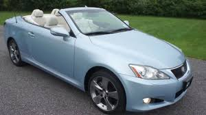lexus convertible 2010 lexus is250c convertible for sale one owner loaded beautiful