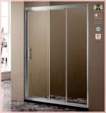 Plastic Shower Doors Sliding China Factury Price Fiberglass Shower Doors Suppliers And