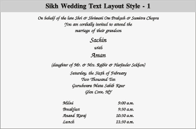 Punjabi Wedding Cards Wedding And Jewellery Punjabi Wedding Invitation Wording