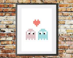 Gaming Home Decor Gaming Couple Etsy