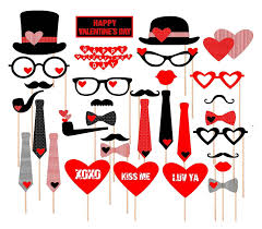 magnificent valentine photo booth props pictures inspiration