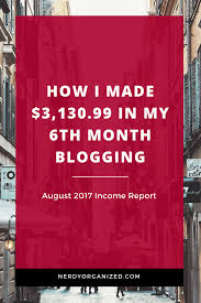 how i made 3 130 99 in 1 month august 2017 income report