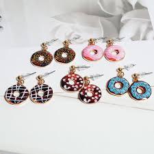 earrings for school online shop doreen box korean style trendy zinc alloy stud earring