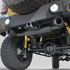 jeep wrangler performance exhaust exhaust systems magnaflow mf 15160f fortec dual exhaust