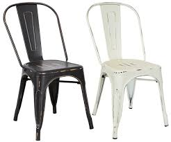 chair a heavy duty metal dining room chairs in colors black and