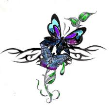butterfly butterfly design tribal designs 2013