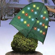 outdoor decorative multi color led light up bush shrub garden