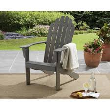 Grey Adirondack Chairs Upc 644794343020 Mainstays Adirondack Chair Gray Grey Rubber