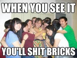 Cracker Memes - when you see it you ll shit bricks 40 asians 1 cracker quickmeme