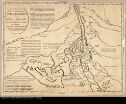 Map Of Colorado And New Mexico by Linealist New Mexican History And Archive Projects