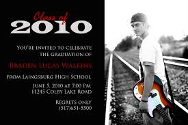 graduation open house invitation the invite spot simple affordable page 2
