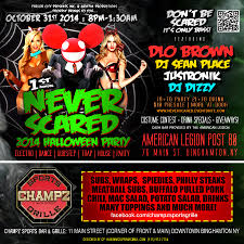 promotional design for 2014 never scared halloween party u2013 griffin