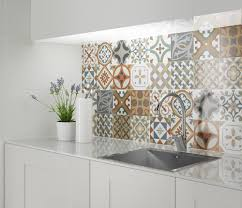 moroccan tiles kitchen backsplash chimei brick kitchen backsplash 2 create a summery kitchen