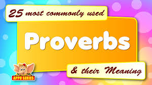 Trees And Their Meanings 25 Most Commonly Used Proverbs And Their Meaning Youtube