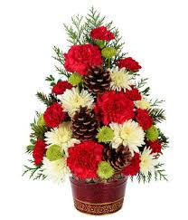 christmas flowers christmas tree celebration at from you flowers