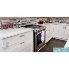 home depot 60 inch kitchen base cabinet j collection shaker assembled 15x34 5x14 in shallow base