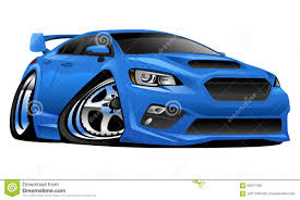 Modern Muscle Cars - import modern muscle sports car illustration stock vector image