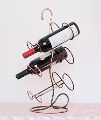 6 bottle wine rack wrought iron wine racks for family buytra com