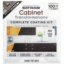 what paint color looks with espresso cabinets rust oleum transformations color cabinet kit 9