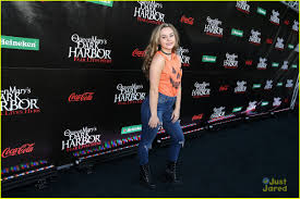 brec bassinger kicks off halloween season at the queen mary u0027s dark