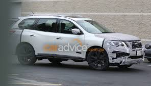 pathfinder nissan 2016 2016 nissan pathfinder spied testing photos 1 of 5