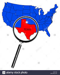 Blank Map Of Usa States by An Outline Map Of The United States Of America With Texas