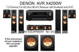 home theater systems denon ultimate home theater system in malaysia wilayah av equipment