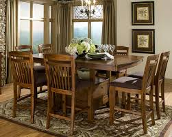 Counter Height Dining Set With Storage Table Extension - Counter height dining room table with storage