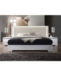 platform bed with led lights memorial day sale best master furniture athens white with led
