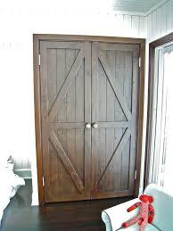 Rustic Closet Doors Rustic Looking Closet Doors Closet Doors