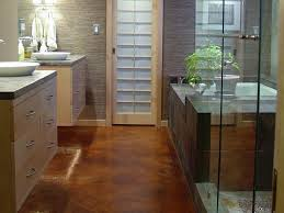 Wood Floor Bathroom Ideas Bathroom Flooring Ideas Home Design