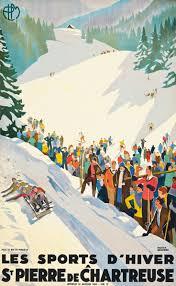 40 best ski lodge images on pinterest vintage ski posters