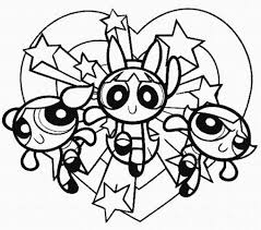 Power Puff Coloring Page Powerpuff Girls Coloring Pages Getcoloringpages Com