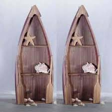 wooden boat wall boat decor racks 2 wood row boats wall shelves shelf eba