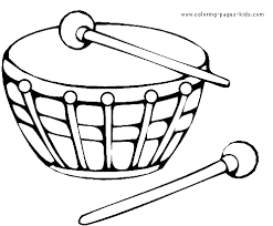 music color page printalbe coloring pages for kids