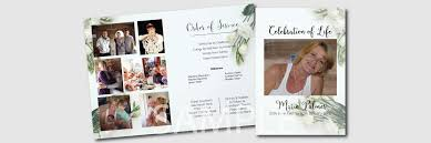 funeral stationery white a destiny designers