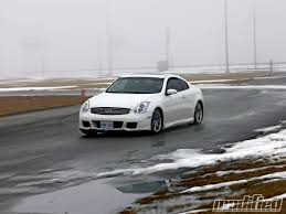 on the road review infiniti 2006 infiniti g35 coupe tire review modified magazine