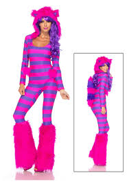 leg avenue charming cheshire cat costume size m l