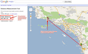 Hawaii On The Map Measuring Distance Between Two Points On Google Maps Using