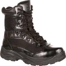 Most Comfortable Police Duty Boots Alphaforce Zipper Waterproof Duty Boot By Rocky Boots Fq0002173